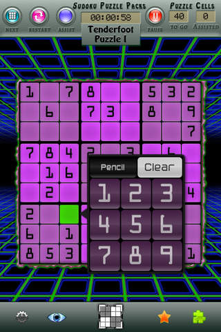 Sudoku Puzzle Packs screenshot 3