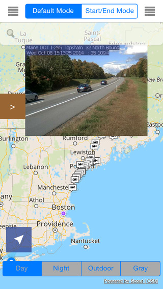 Maine Offline Map with Traffic Cameras Pro