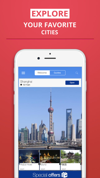 Shanghai - your travel guide with offline maps from tripwolf guide for sights restaurants and hotels