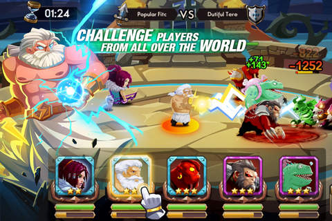 We Heroes - Guild War screenshot 2