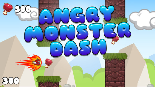 Angry Monsters Dash – Tiny Beasts in Full Flight