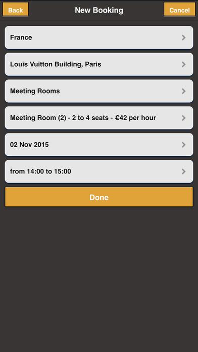 Meetings iPhone Screenshot 3