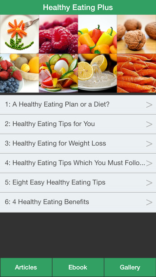 Healthy Eating Plus - Guide To Eat Right For Your Health