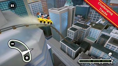 New York 3D Rollercoaster Rush screenshot 1
