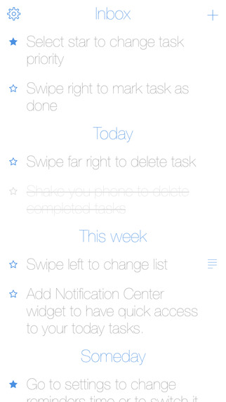 Today to-do list
