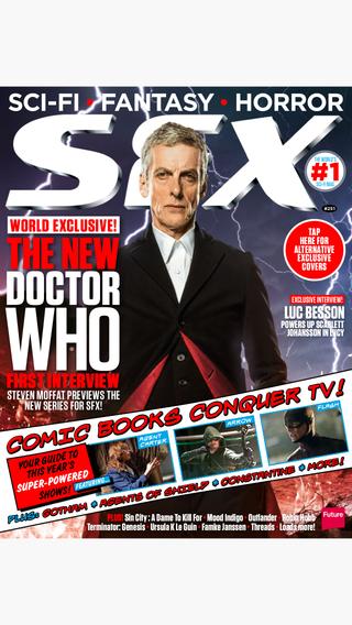 SFX: the sci-fi horror and fantasy magazine