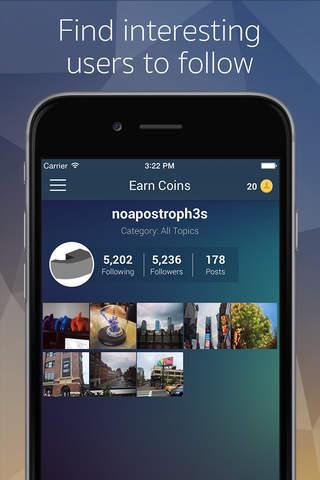 Screenshot 1 Get Followers - Gain more real followers for Instagram