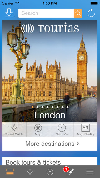 London Travel Guide - TOURIAS Travel Guide free of
