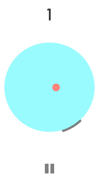 Circle Pong: endless round bouncing ball