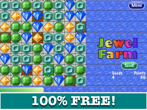 Jewel Farm iPad Screenshot 1