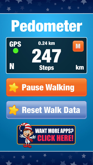 Pedometer Free - Step Counter and Walking Activity Tracker for Sport and Fitness