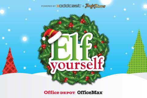 ElfYourself® By Office Depot screenshot 1