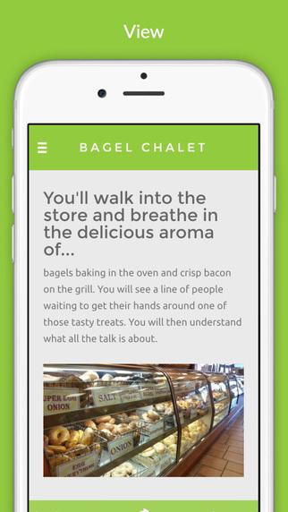 Bagel Chalet