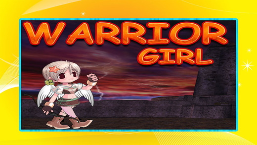 Warrior Girl Hunger for Power Jetpack Action Fun Game Free HD