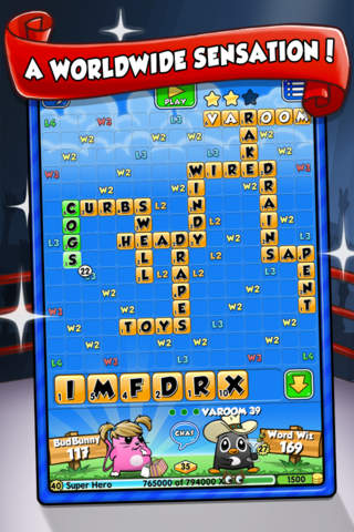 Screenshot 1 Word Chums Free