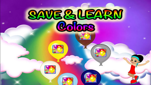 Balloons Colors Preschool Learning Experience Jumping Balloons Game