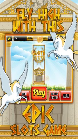 Ace Classic Slots Zeus Way - Age Of Titans Slot Machine Games HD