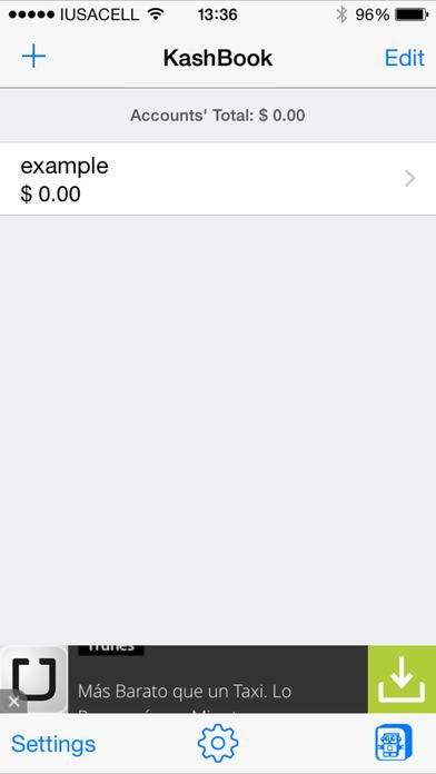 KashBook Free iPhone Screenshot 2