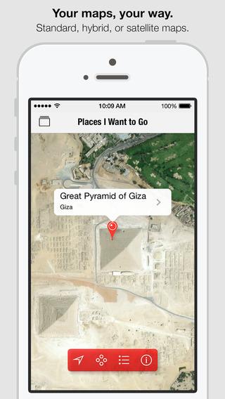 Screenshots for Pinbox - Map Your World