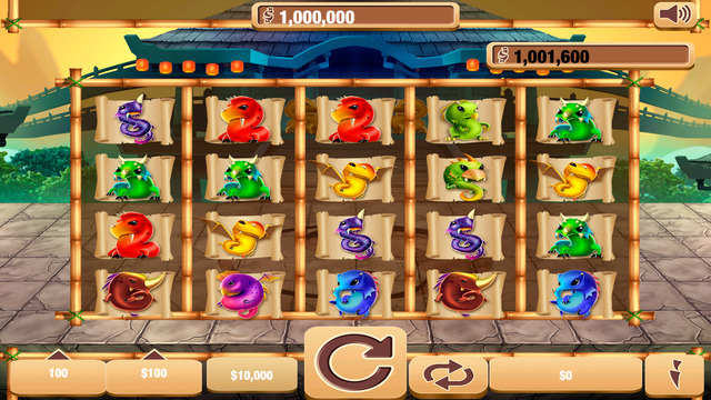 Lucky Imperial Dragon House Of Casino Slot Machine Fun