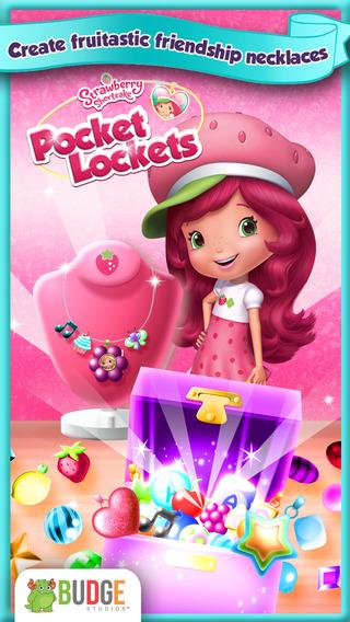 Strawberry Shortcake Pocket Lockets - Jewelry Maker