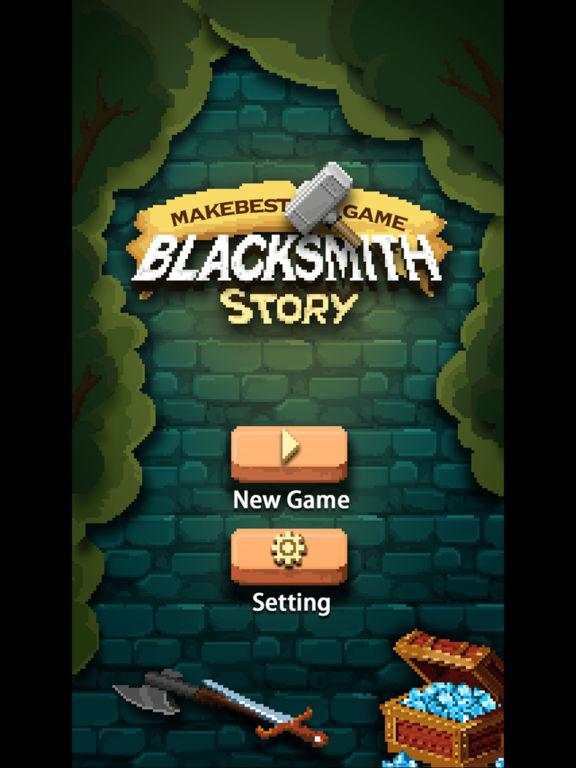 Blacksmith Story HD. Скрин 1