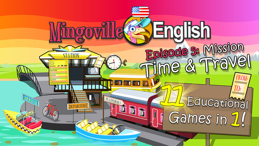 Time and Travel - English Vocabulary Trainer