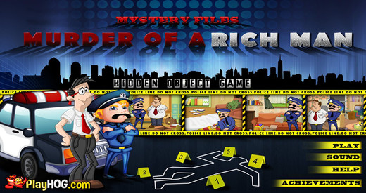 Mystery Files - Murder of the Rich Man - Free Hidden Object Games