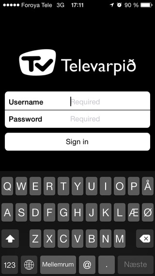 Televarpið for iPhone