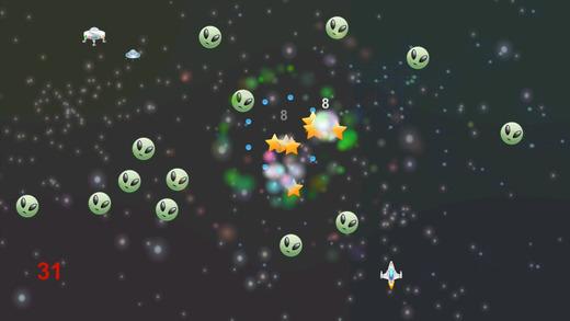 Space Parade - シューティング