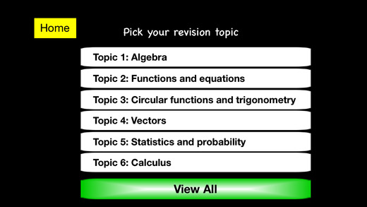 IB DP Standard Level Mathematics Revision