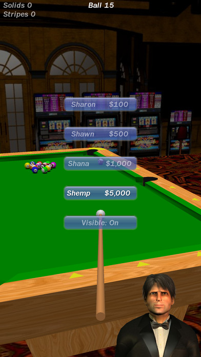 Screenshot 4 Vegas Pool Sharks HD Lite