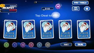 Screenshot 2 Ааа Рождество Джекпот Радость Покер — Слушать лучших бесплатных игр прохладном игры футбол спорт онлайн для