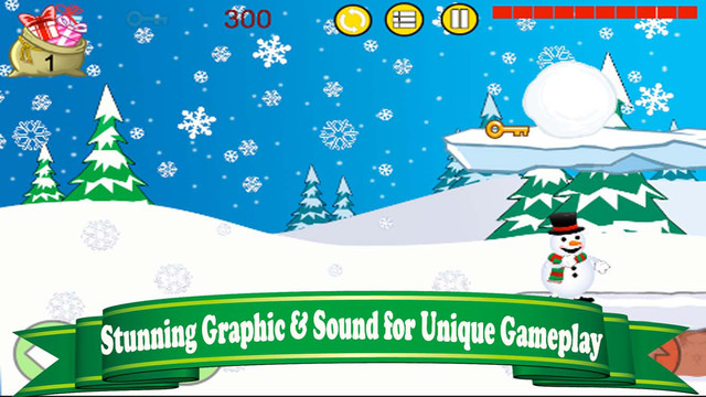 Snowman Rush : The Cutest Santa Surfing Game for Frozen Fan FREE