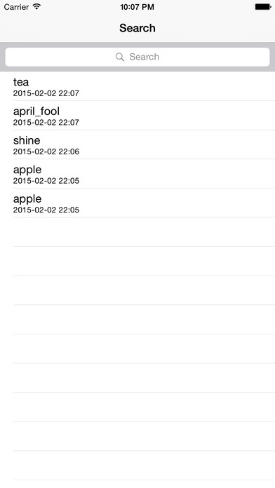 W2T Dic iPhone Screenshot 2