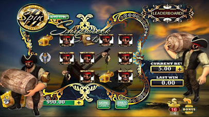 AAA Ancient Shipwreck Pirate Slots  - Free Casino Game with for Christmas!-1