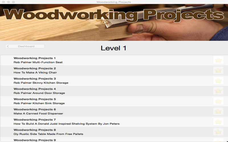 Woodworking Projects Screenshot - 1