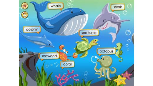ABC儿童情景英语-动植物篇