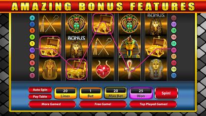Screenshot 3 Фараоны Слоты Храм — Бесплатный Древняя Казино Слот-машина