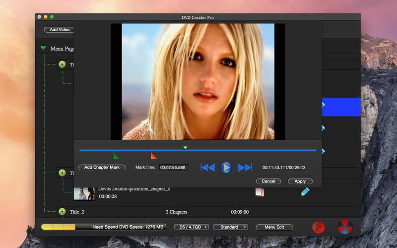 DVD Maker Pro - Video Photo Burn Lite Screenshot - 3