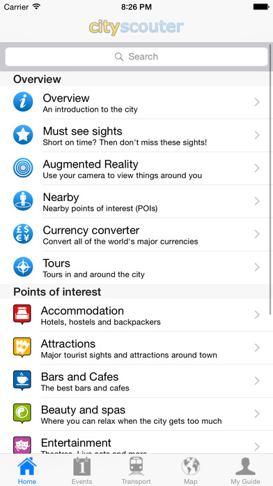 Montpellier Travel Guide Offline iPhone Screenshot 3