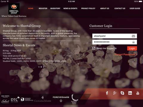Sheetal Group for iPad