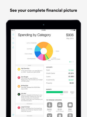 Screenshot 2 Mint: Money Manager,  Budget & Personal Finance