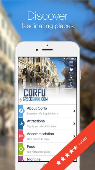 CORFU by GREEKGUIDE.COM offline travel guide