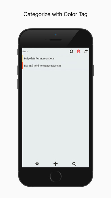 TinyMemo Screenshot