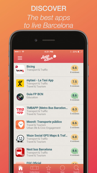 Apps4Bcn - The best apps to live and discover Barcelona selected and reviewed by local experts