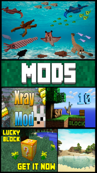 MODS for Minecraft - Pocket Explorer. for MCPC Edition. Screenshots