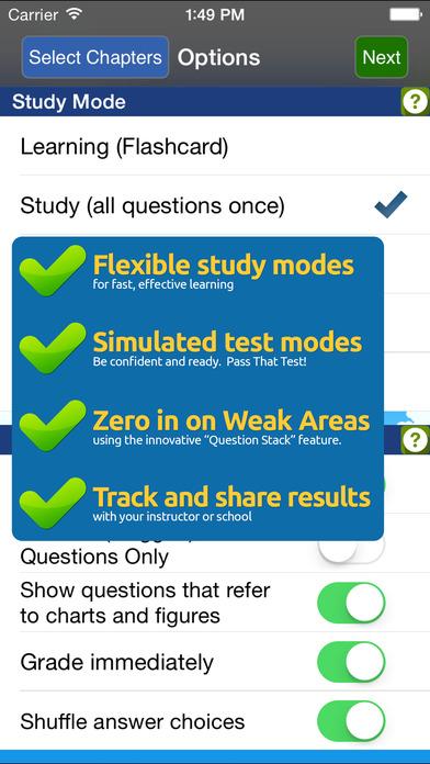GroundSchool FAA Knowledge Test Prep - Aviation Mechanic General iPhone Screenshot 2