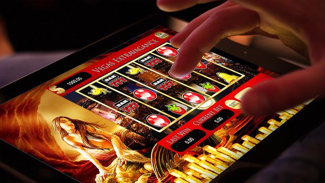 A Abu Dhabi 777 Jackpot Casino Master Slots Machine