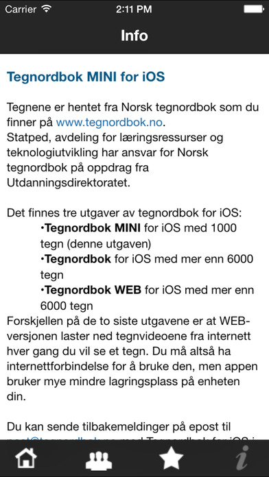 Tegnordbok 1000 iPhone Screenshot 4